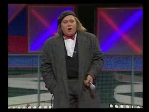 Sam Kinison on British TV
