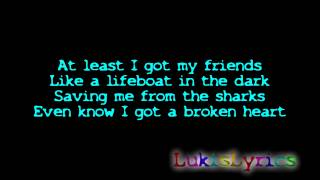 Aura Dione feat. Rock Mafia - Friends [Official Lyrics Video _ HD_HQ]