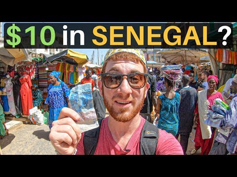 What Can $10 Get in DAKAR, SENEGAL? (Budget Travel)