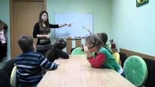 English lesson Present Continuous for kids 6-7. Интересный  английский  для младших школьников