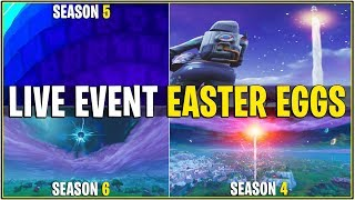 *NEW* FORTNITE NEW YEARS LIVE EVENT EASTER EGGS! (Cube,Rocket, & Portals Teased)