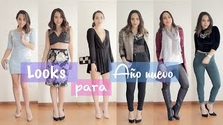 OUTFITS PARA AÑO NUEVO|What The Chic