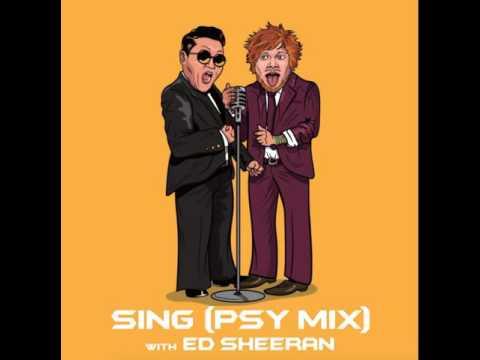 Клип PSY - SING (PSYmix)