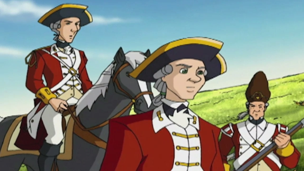 Liberty S Kids Hd 109 Bunker Hill History Cartoons For Children