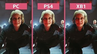 Wolfenstein 2 – PC vs. PS4 vs. Xbox One Graphics Comparison & Frame Rate Test