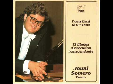 Jouni Somero plays Liszt Feux follets