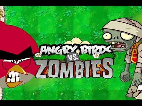 Angry Birds Vs Zombies Youtube