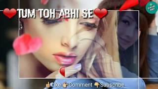 "The video is cute version of ""o mere dil ke chain""song for whatsapp status. and whole created by me. if you like this video,please subscribe and..."