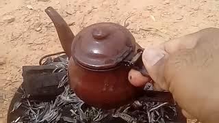 كيفية تحضير الشاي بنكهة صحراوية ادرارية