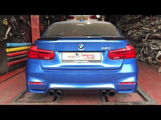 BMW F30 3.20 KUMANDALI VAREX EGZOZ SESİ