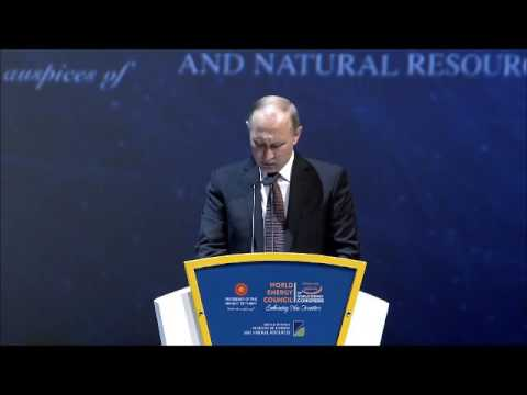 Vladimir Putin, President, Government of Russia / Day1, World Energy Congress 2016