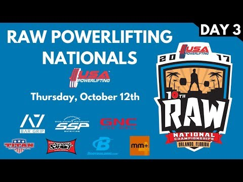 Thursday (Multiview) - 2017 USA Powerlifting Raw Nationals