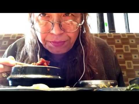 On location: late lunch Korean soup/SoonDubu & pan chan/ban chan soft spoken asmr