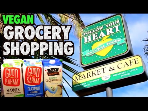 Follow Your Heart Market & Cafe VEGAN Grocery Shopping
