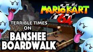 Banshee Boardwalk Troubles | Mario Kart 64 (Wii U Virtual Console)