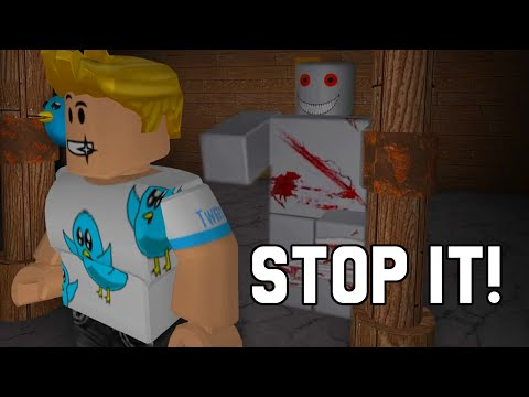 ROBLOX STOP IT, SLENDER! 2 | RADIOJH GAMES & GAMER CHAD | FACECAM