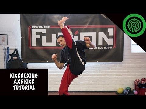 Kickboxing Axe Kick Tutorial