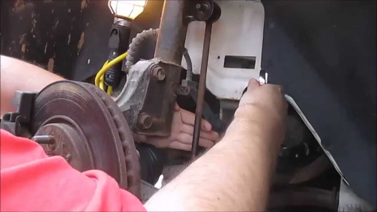 stabilizer bar link replacement dodge caravan
