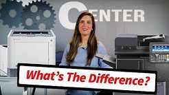 The Differences Between a Copier, Printer, and MFP