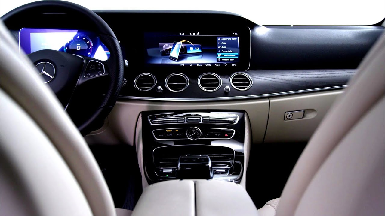 Interior Design Of The 2016 E Class U2013 Mercedes Benz Original   YouTube