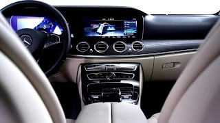 Interior Design of the future E-Class - Mercedes-Benz original