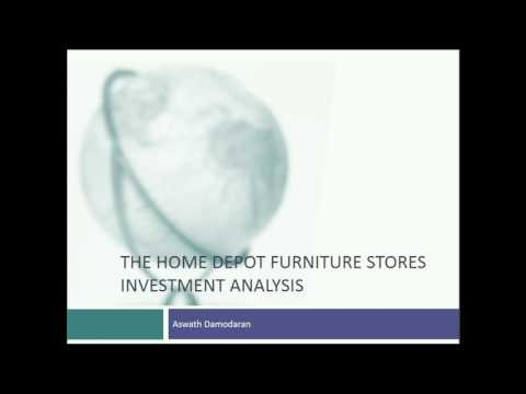 Session 15: The Home Depot Case & Closing the books on Investment Analysis