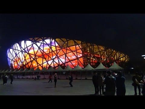 สนามกีฬารังนก กรุงปักกิ่ง Beijing National Stadium (Bird's Nest)
