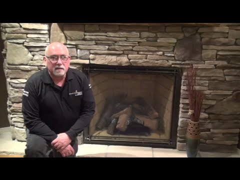 Gas Fireplace Odor Video - YouTube