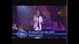 """Jamai singing """"De vleugels van mijn vlucht"""" by Paul de Leeuw - Liveshow 4 - Idols season 1"""