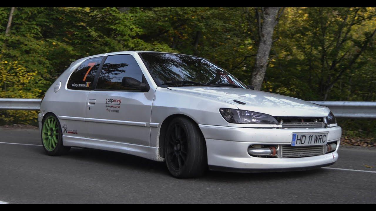 Peugeot 306 1 9 Dt Gtb2260vk Turbo Downhill Run Wet Hd 1080p Youtube