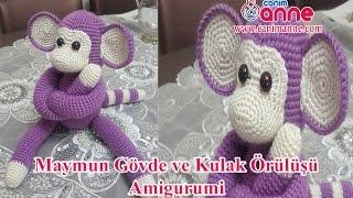 Amigurumi Tavşan Kulak Yapımı (Amigurumi Tavşan - 2. Bölüm) - YouTube | 180x320