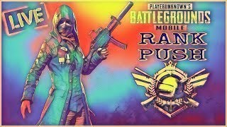 🔴(HINDI)  PUBG MOBILE RANK PUSH TO CONQUEROR GIVEAWAY FREE ELITE PASS