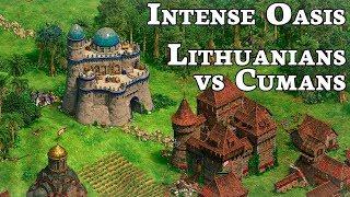 Intense Oasis Game!   Lithuanians vs Cumans