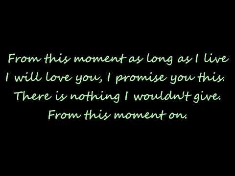 From This Moment On Lyrics - Shania Twain Ft. Bryan White