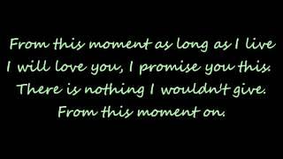 From This Moment On lyrics Shania Twain ft Bryan