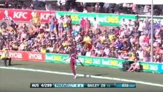 Repeat youtube video 3rd ODI AUS v WI - Match Wrap