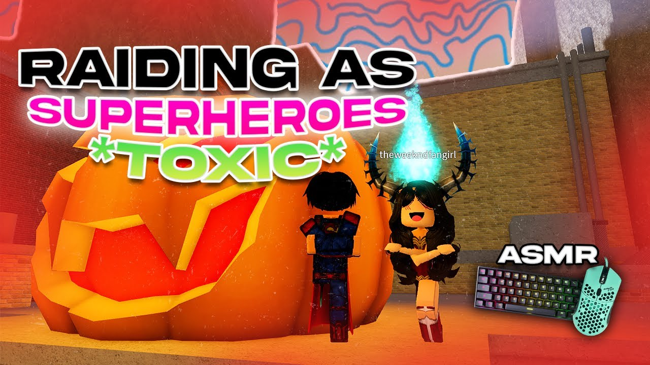 Download Raiding as RICH SUPERHEROES in Da Hood... *Funny* 😂 + Keyboard ASMR!