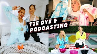 VLOG: Tie-Dye & How I Prep For My Podcasts | TK