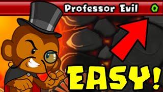 How to Beat Tнe NEW Professor Evil Challenge in BTD Battles | Week 50 part 2
