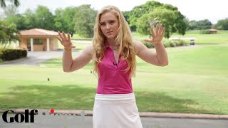 How To Dress For Golf with Kathryn Newton | Golf Digest