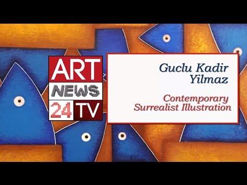 ABSTRACT TURKEY ART :  Guclu Kadir Yilmaz Paintings