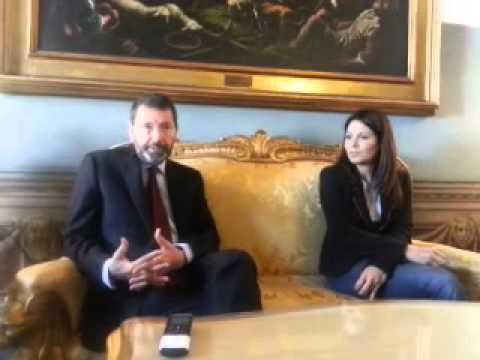 """Roma, Marino: """"Intensificheremo rapporti con FAO"""" (video agenzia DIRE)"""