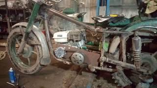Вариатор на мотоцикл Урал-Мотоблок