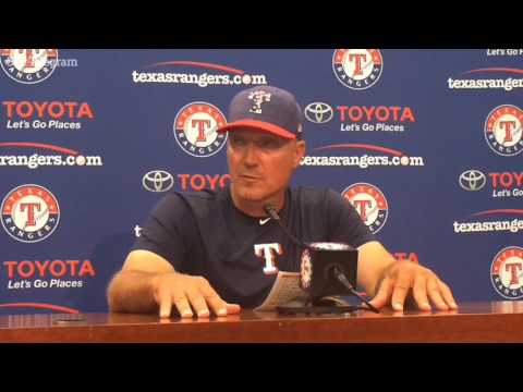 Jeff Banister breaks down what went wrong for Rangers