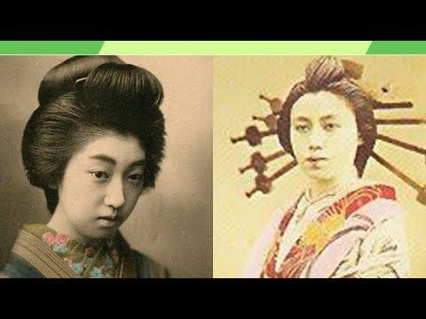 【驚愕】140年前の美しき花魁・遊女 貴重な古写真