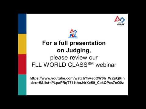 Ask an Expert: FIRST LEGO League Judging and the Team Perspective