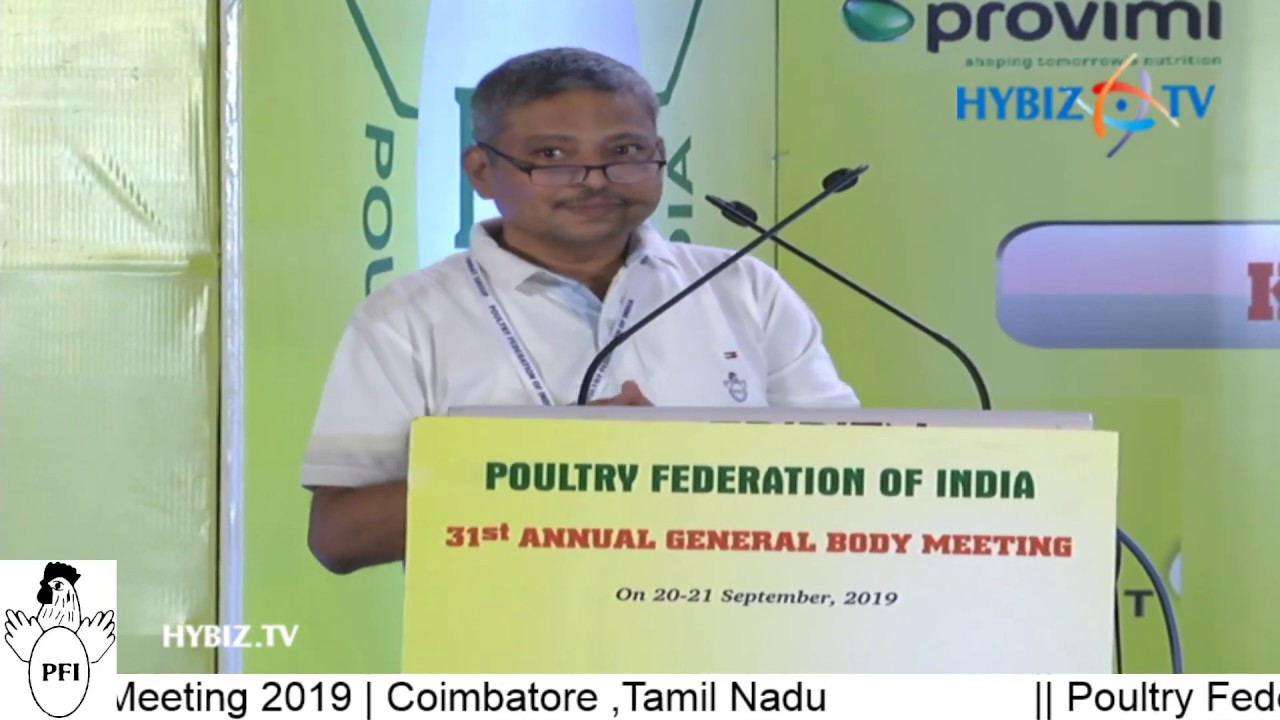 Poultry Federation of India | 31st Annual General Body Meeting 2019 LIVE |  Coimbatore, Tamil Nadu