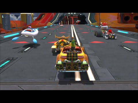 BEAT Thunder Deck 9 Laps Expert (Request) Sonic & SEGA All Stars Racing. PC 2021! |