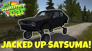 LIFTED SATSUMA & STRESS TEST! - My Summer Car Gameplay Mods - EP 20