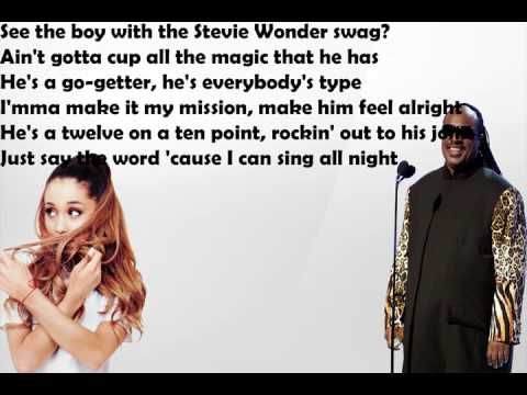 Stevie Wonder Faith ft  Ariana Grande Lyrics